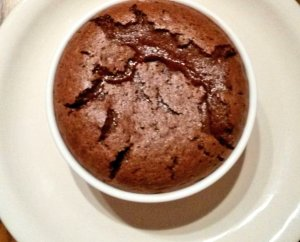The chocolate souffle